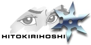 Landscape logo brush stroke