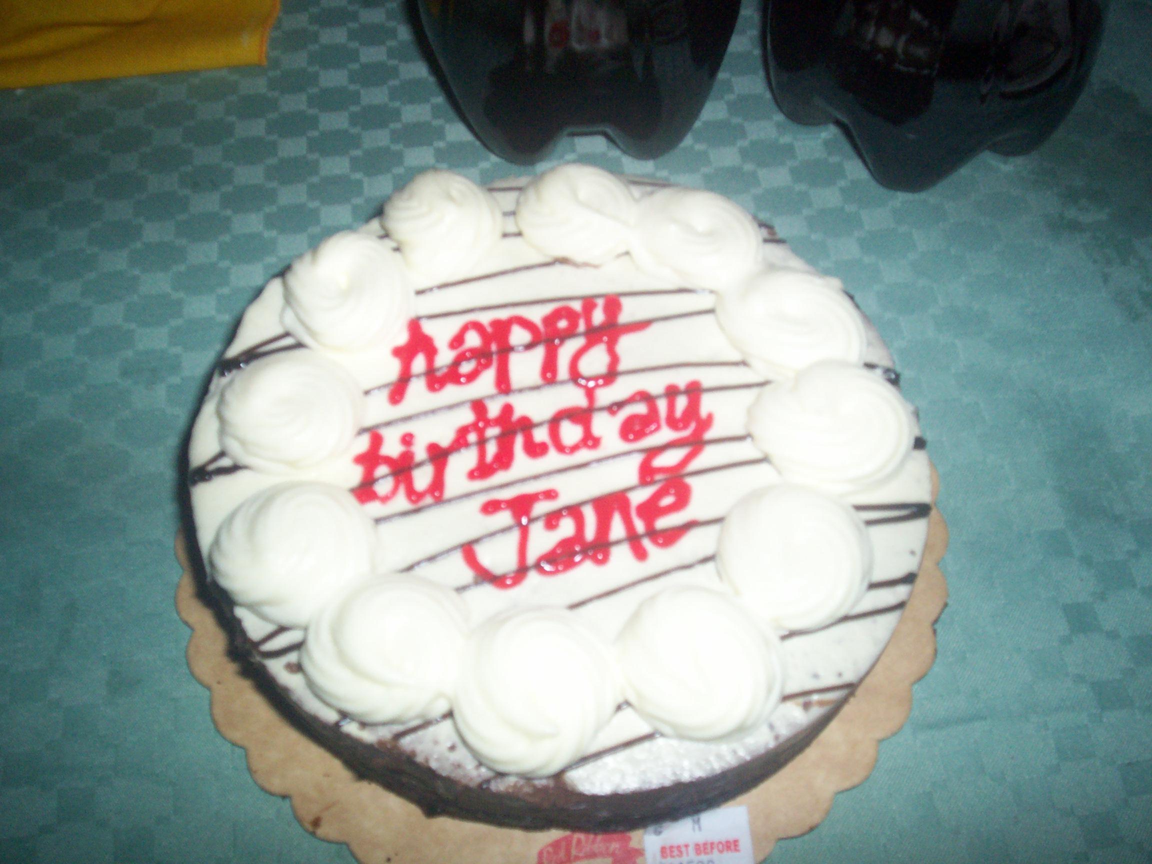 Birthday Cake Upper East Side