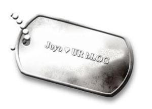 joyo loves my blog, yehey!