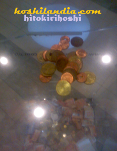 coins for donation