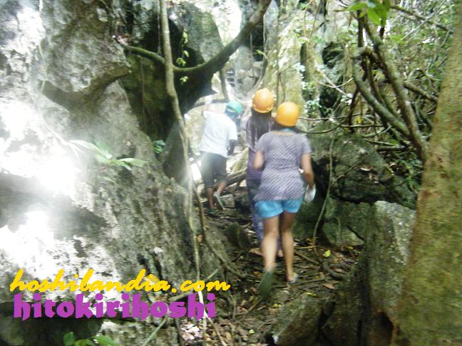 caving o spelunking sa Ugong Rock Adventures, Palawan