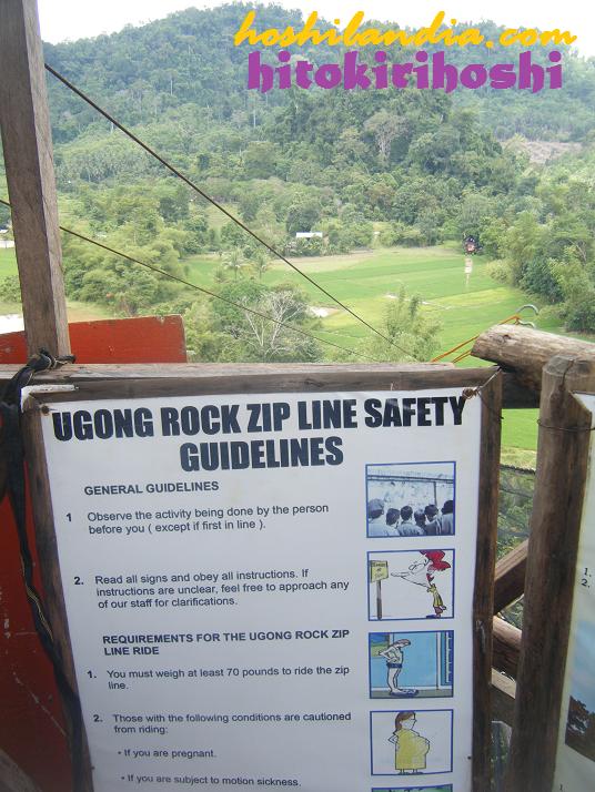Ugong Rock zipline, puerto princesa palawan