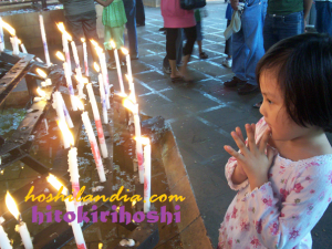 rica and the candles