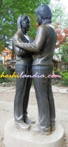 Winter Sonata Statue