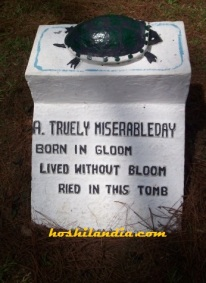 tomb for self pity