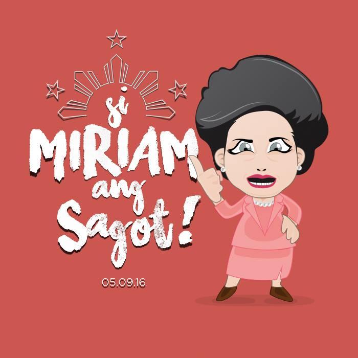 Si Miriam Santiago ang ibobotomo?